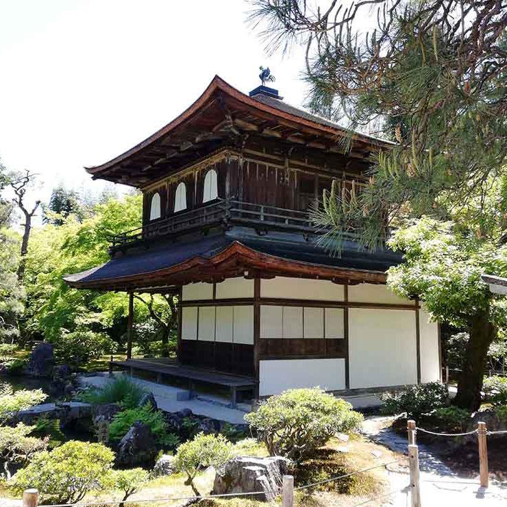 Kyoto, Ginkaku-ji le Temple d'argent
