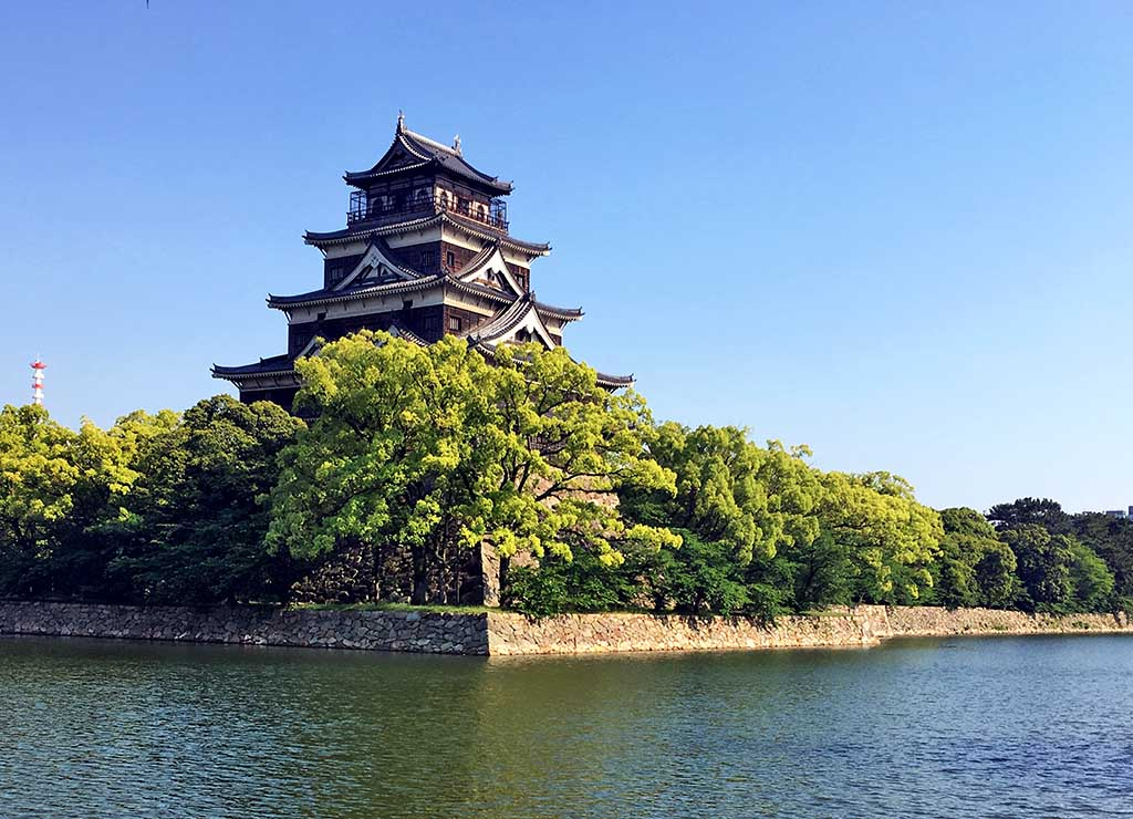 Château d'Hiroshima transformé en musée