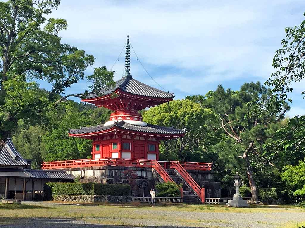 Temple Daikaku-Ji à Kyoto